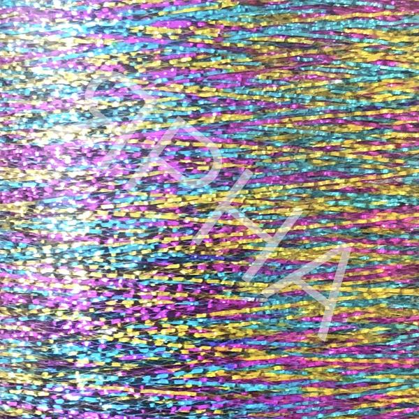 Люрекс конус 371 радуга REX