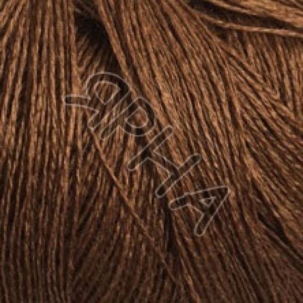 Пряжа на конусах Мерино 50% Folco конус Filivivi Srl #  23035 [коричневый]
