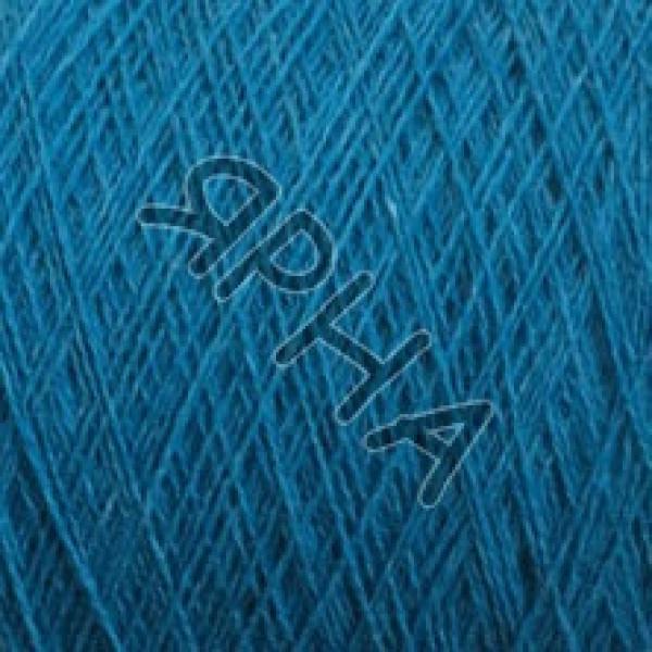Пряжа на конусах Меринос конус KENT 2/18 Zegna BARUFFA # 852042 [синяя бирюза]