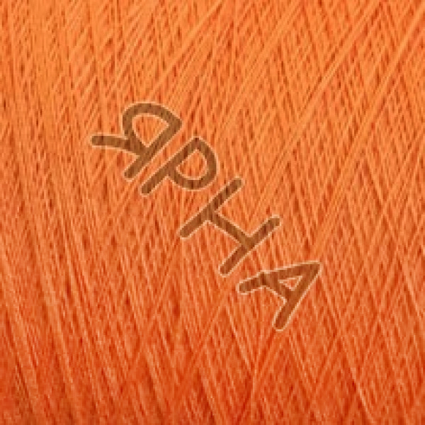 Yarn on cones Cotton cone 2/30 FILARTEX #3202/750 [оранж]