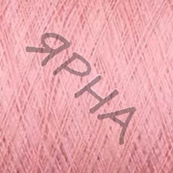 Yarn on cones Silk 100% 2 \ 120 * 2 Dragon Botto Paola # 210193 [роза]