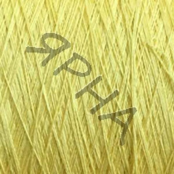 Пряжа на конусах Шелк 100% 2/120*2 Dragon Botto Paola #   1345 [желтый]