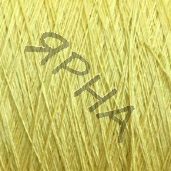 Yarn on cones Silk 100% 2 \ 120 * 2 Dragon Botto Paola #   1345 [желтый]