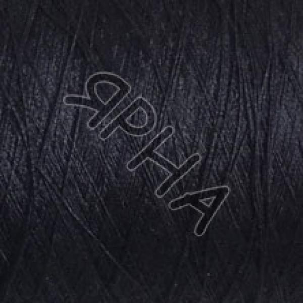 Yarn on cones Silk 100% 2 \ 120 * 2 Dragon Botto Paola # 210495 [т.синий]