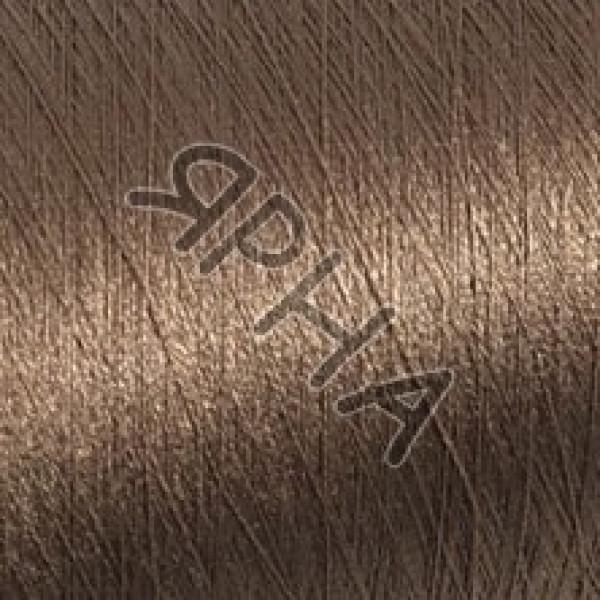 Yarn on cones Silk 100% 2 \ 120 * 2 Dragon Botto Paola #   7438 [золотая нуга]