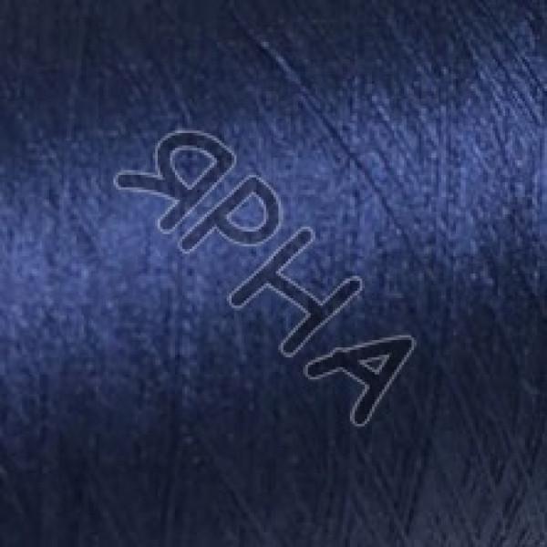 Yarn on cones Silk 100% 2 \ 120 * 2 Dragon Botto Paola #    811 [синий]