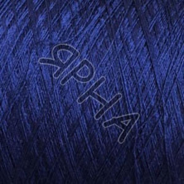 Yarn on cones Silk 100% 2 \ 120 * 2 Dragon Botto Paola #  82501 [синий]