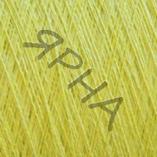 Yarn on cones Silk and linen 2/48 Botto Paola #     46 [желтый лимон]