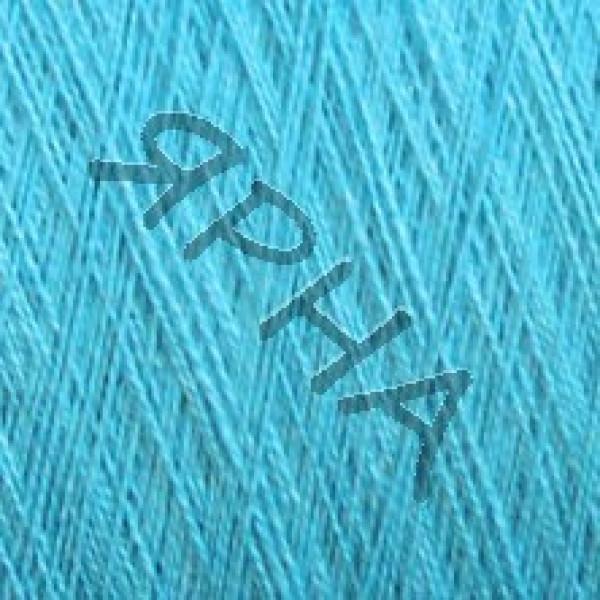 Yarn on cones Silk and linen 2/48 Botto Paola #     30 [синяя бирюза]