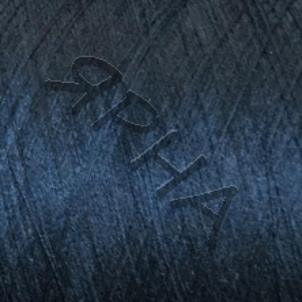 Пряжа на конусах Шелк конус 2/120 НASEGAWA #  91201 [темн синий]