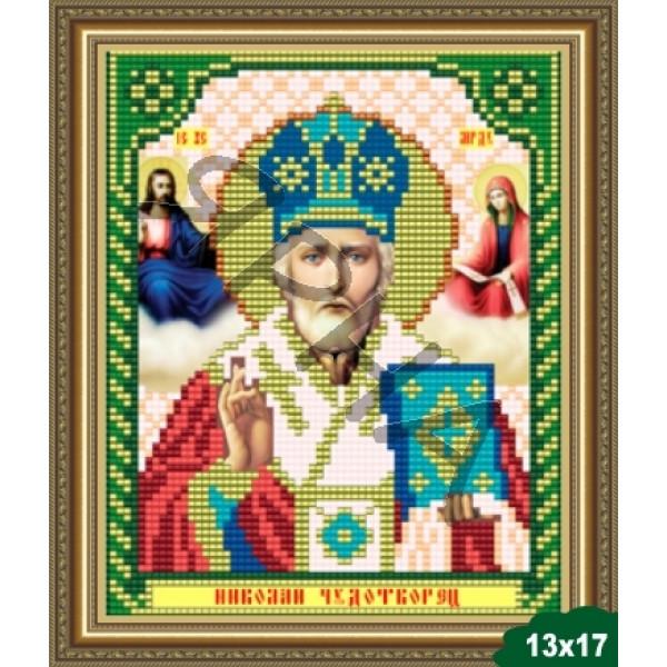 Вышивка бисером Икона ИКОНА #   5003 [Казанская Божия Матерь 13.5*17 см]