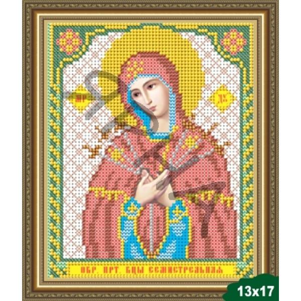 Вышивка бисером Икона ИКОНА #   5004 [Казанская Божия Матерь 13.5*17 см]