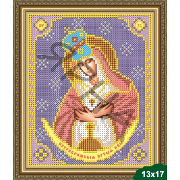 Вышивка бисером Икона ИКОНА #   5006 [Казанская Божия Матерь 13.5*17 см]