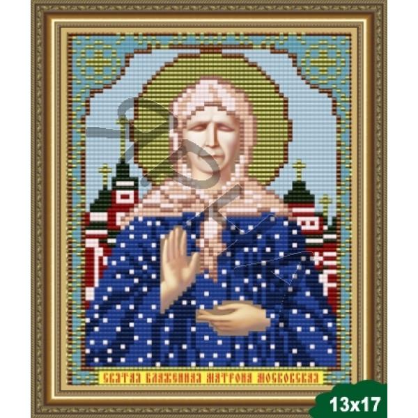 Вышивка бисером Икона ИКОНА #   5008 [Казанская Божия Матерь 13.5*17 см]