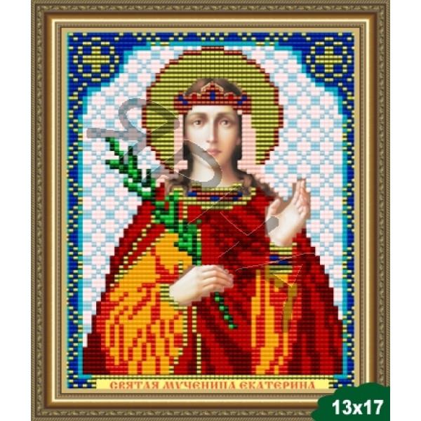 Вышивка бисером Икона ИКОНА #   5016 [Казанская Божия Матерь 13.5*17 см]