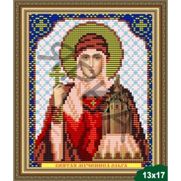 Вышивка бисером Икона ИКОНА #   5017 [Казанская Божия Матерь 13.5*17 см]
