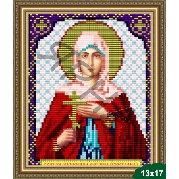 Вышивка бисером Икона ИКОНА #   5037 [Казанская Божия Матерь 13.5*17 см]