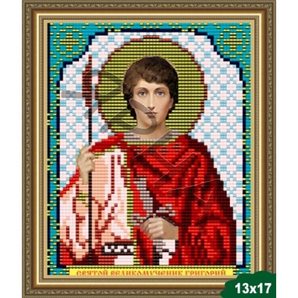 Вышивка бисером Икона ИКОНА #   5043 [Казанская Божия Матерь 13.5*17 см]