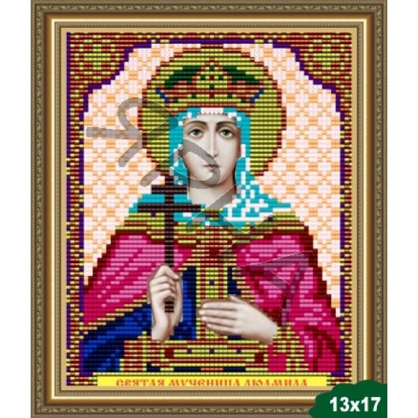 Вышивка бисером Икона ИКОНА #   5056 [Казанская Божия Матерь 13.5*17 см]
