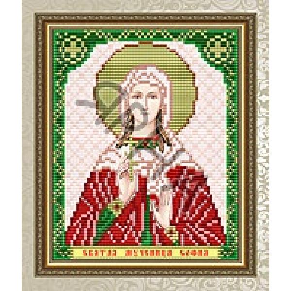 Вышивка бисером Икона ИКОНА #   5093 [Казанская Божия Матерь 13.5*17 см]