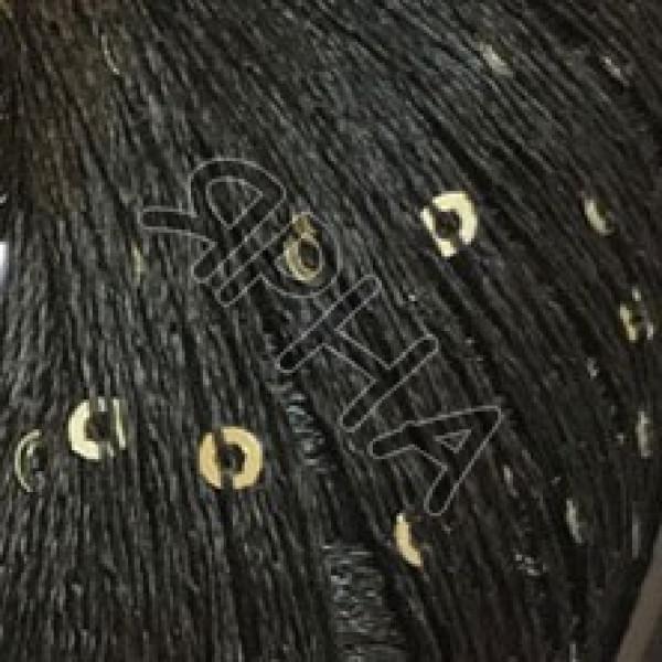 Диаманте пайет #     92 [черный серебро]