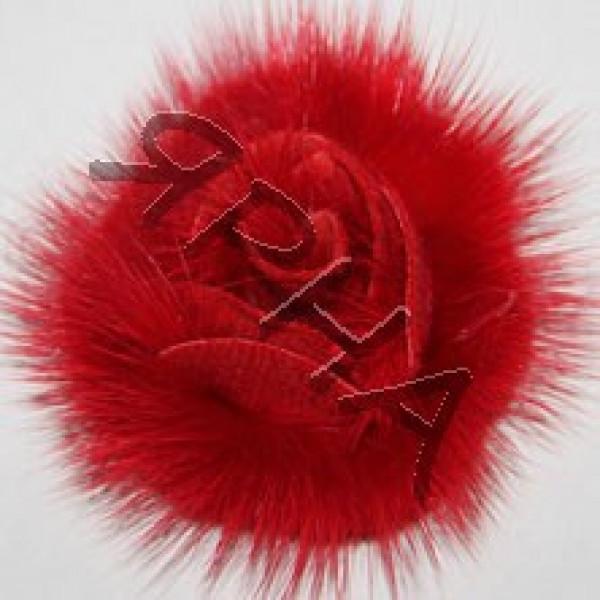 Наборы розочки Розочка норка (набор) Drakon #      3 [алая]