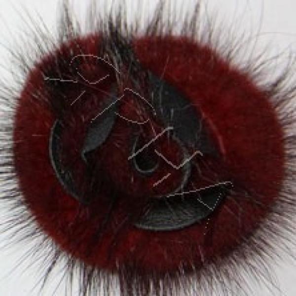 Наборы розочки Розочка норка (набор) Drakon #      4 [винная]