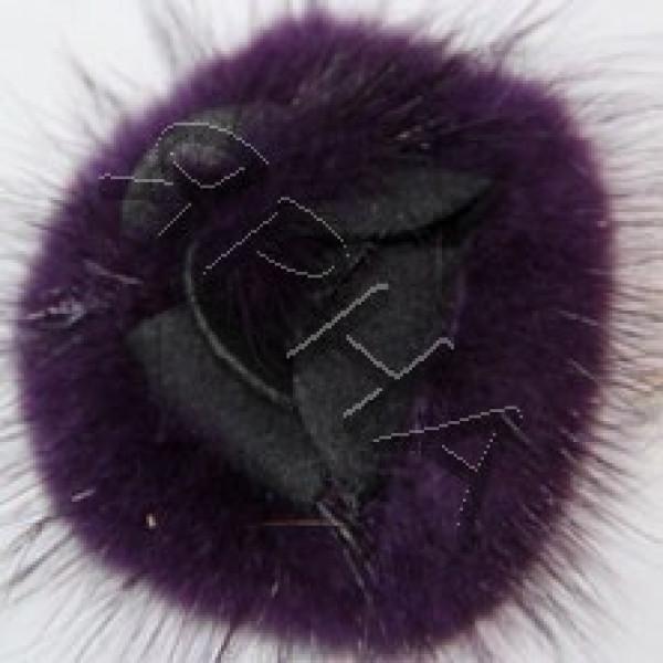 Наборы розочки Розочка норка (набор) Drakon #      9 [баклажан]