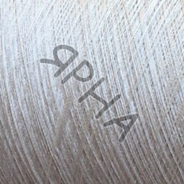 Пряжа на конусах Шелк 100% 2/60 COFIL #    152 [белый/серый]