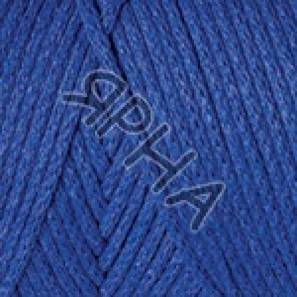Пряжа в мотках Макраме коттон YarnArt (РАМ) #    786 [синий]