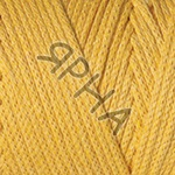 Пряжа в мотках Макраме коттон YarnArt (РАМ) #    764 [желток]