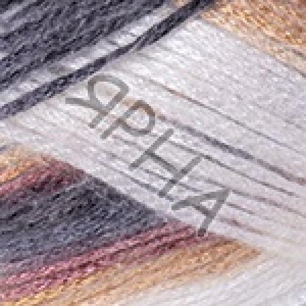 Пряжа в мотках Мелоди YarnArt (РАМ) #    902 [молоко+серый+фрез]