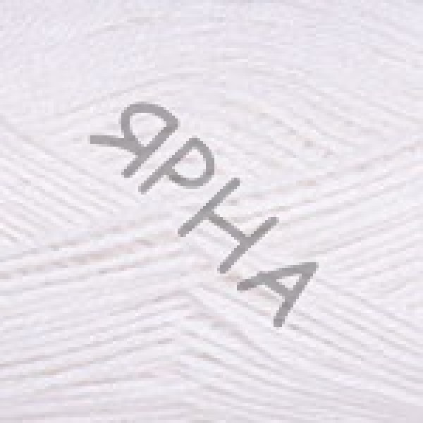 Пряжа в мотках Силк роял YarnArt (РАМ) #    447 [снег]