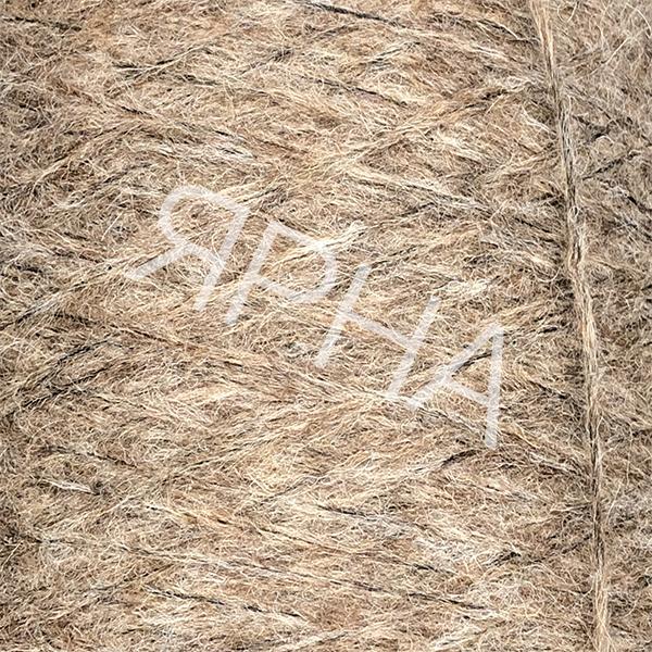 Yarn on cones Alpaca Reale Flamme Cone PECCI FILATI #    703 [св коричн седой]