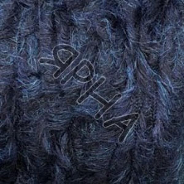 Пряжа на конусах Teddy LINEA PIU #  78608 [синий креатив]