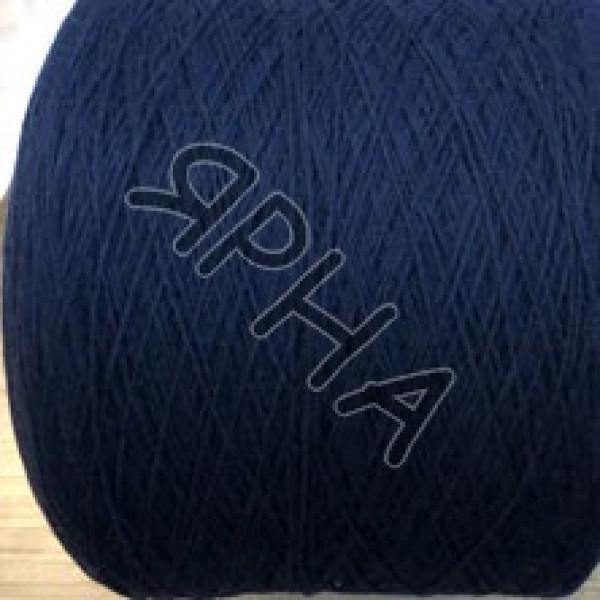 Пряжа на конусах Меринос Super Soft 2/15 NEW MILL # 129555 [темно-синий]