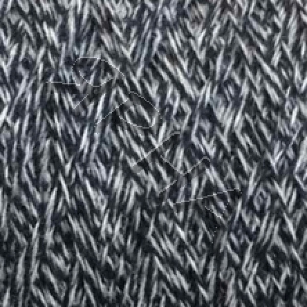 Yarn on cones Merino 100% 2/15 Extrageelong Zegna BARUFFA # 852916 [сине-серое мулине]