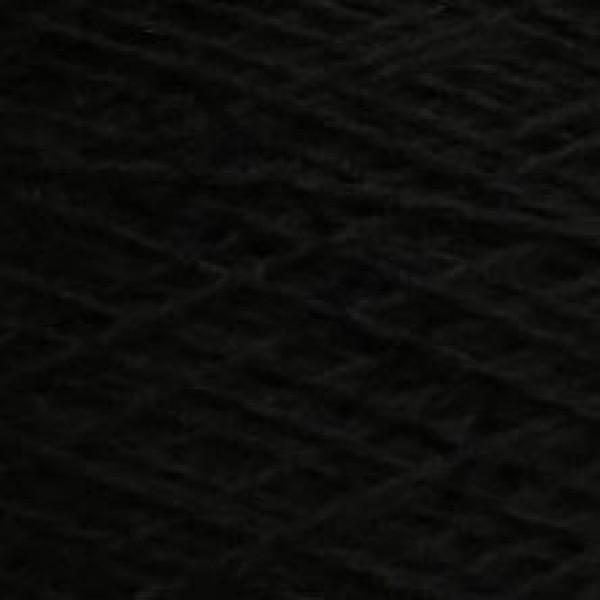 Yarn on cones Merino 100% 2/15 Extrageelong Zegna BARUFFA #        [черный]