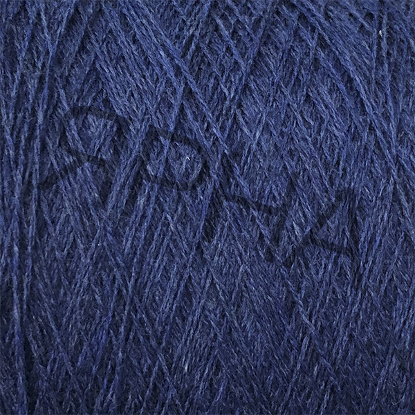 Yarn on cones Меринос 100% 2/15 экстраджилонг Zegna BARUFFA # 711665 [джинс]