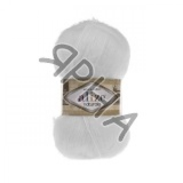 Yarn Натурале Ализе Alize (Ализе) #     55 [снег]