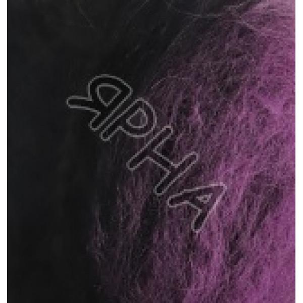 Пряжа в мотках Натурале Ализе Alize (Ализе) #   5912 [лиловый/черный]