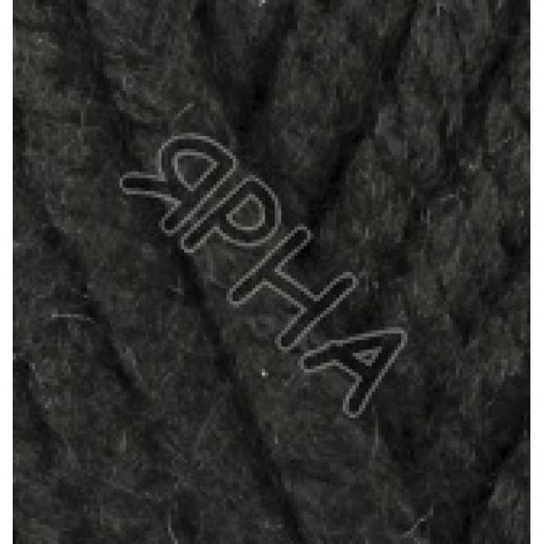 Пряжа Суперлана мегафил (MEGAFIL) Alize (Ализе) #     60 [черный]