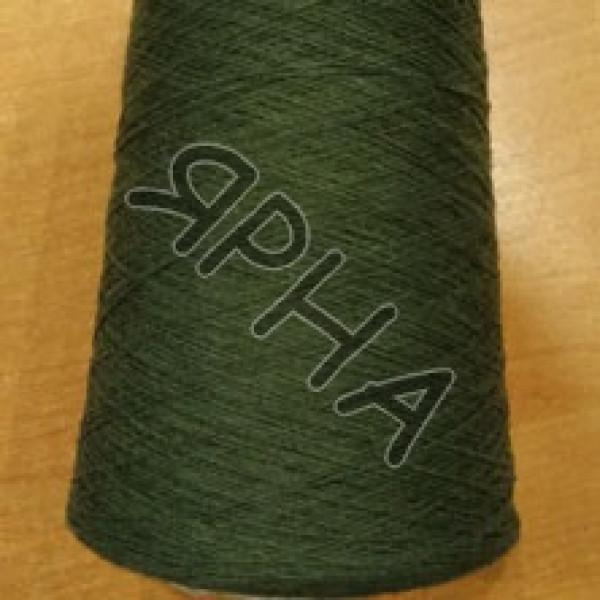 Yarn on cones Mink / Cashmere BIAGIOLI MODESTO #    604 [зеленый]