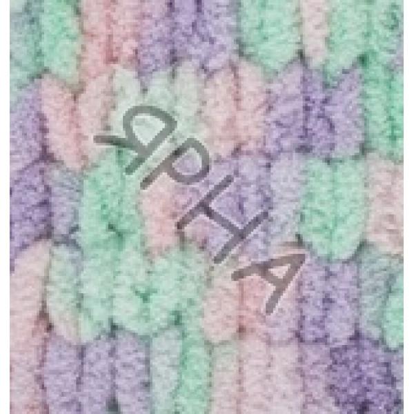 Пряжа в мотках Пуффи колор Ализе Alize (Ализе) #   5938 []