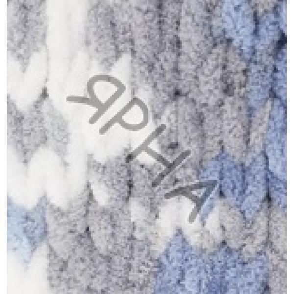 Пряжа в мотках Пуффи колор Ализе Alize (Ализе) #   6075 []