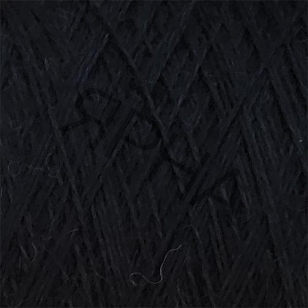 Yarn on cones Merino cone 3750 Granito PECCI FILATI #9999/650 [черный]