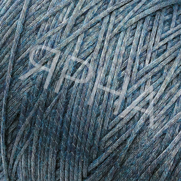 Пряжа на конусах Snappy(Снэпи) PINORI FILATI  #   7522 [зеленая волна]