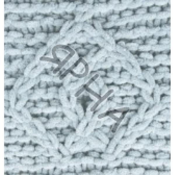 Пряжа в мотках Пуффи файн Alize (Ализе) #    500 [серый]