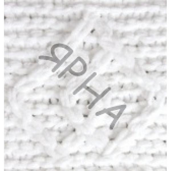 Пряжа в мотках Пуффи файн Alize (Ализе) #     55 [белый]