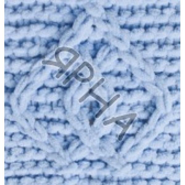 Пряжа в мотках Пуффи файн Alize (Ализе) #    218 [голубой]